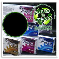 440ml BLACK Roland Eco Sol Max 100% Compatible Solvent Ink Werx Cartridge