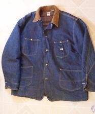 1950s Lee Union Made Blanket Lined Denim Jean Sanforized Chore Jacket