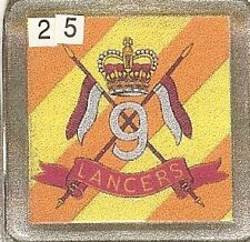 Acrylic Military Key Ring   9th Queens Royal lancers