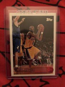 Kobe Bryant 1996-97 Topps Basketball Rookie Card RC #138 LAKERS HOF GOAT!!