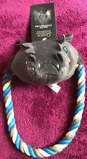 GAME OF THRONES ICE DRAGON DOG TOY BAT GIFT PRESENT SQUEAKY ROPE CHEW DOG TOY