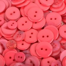 50 grams ROSE PINK Buttons Mixed styles and sizes but0271