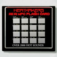 Akai Mpc 1000 Compact Flash Card, MPC 1000, mpc 2500, MPC 5000(2000 Hot Sounds)