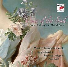 VOICE OF THE SOUL-FLUTE MUSIC BY JEAN DANIEL BRAUN - AZZOLINI,SERGIO.... CD NEU
