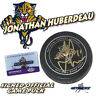 JONATHAN HUBERDEAU Signed FLORIDA PANTHERS OFFICIAL GAME Puck - w/COA #2