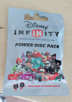 Disney Infinity 1.0 Power Disc Pack 2 disc SEALED New nuovo compatibili 3.0 2.0