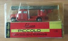 h59 - Schuco / Piccolo 1/90 - Mercedes-Benz FEUERWEHR (01451)