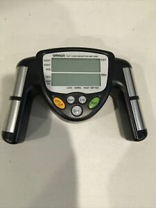 Omron HBF-306C Fat Loss Monitor Hand Held Body Fat Percent Analyzer BMI Tested!