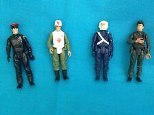 VINTAGE 1980S ACTION FORCE FIGURES X 4 JOB LOT