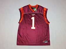 Virginia Tech Hokies Nike Sleeveless Football Jersey Size XL NWT SUPER RARE!