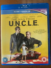 Man from Uncle Blu-ray 2015 Spy Movie with Henry Cavill + Armie Hammer 505189218