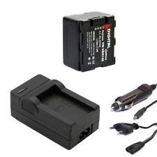 Akku + Ladegerät Set für Panasonic HC-X909, X800, X810, HC-X929 Li-ion ACCU