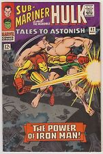 Tales to Astonish #82 - The Incredible Hulk & The Sub-Mariner, VF-NM Condition'