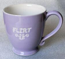 STARBUCKS FLIRT purple mug 2006 15 ounces