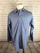 Brooks Brothers Men's Blue Non Iron Dress Shirt 16.5 33 $125