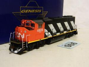 Athearn Genesis HO Canadian National GP38-2 Diesel Loco 4809 Bx G40503 DCC Ready