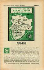 ADVERTISEMENT Bordeaux Chateau Vineyard Wine MAP Cubzaguais