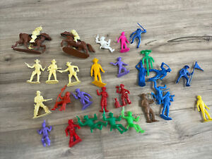MARX RECAST LOT ?   PAT BRADY TOY SOLDIERS AND MORE NR