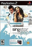 SingStar: Pop Ps2 PlayStation 2 kids game