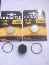 Deux Batterie O Ring Kit Suunto Vyper vytec, Gekko, Zoop helo 2 DURACELL sans graisse