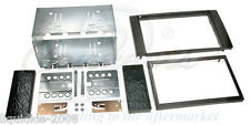FORD GALAXY 2006 ONWARDS BLACK DOUBLE DIN FASCIA FACIA ADAPTOR PANEL KIT