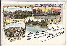LETTLAND , KURLAND , LITHO GRUSS AUS LIBAU , LIEPAJA , 1903