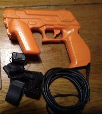 Namco NC-109 Guncon 3 official light Gun Zapper RARE with sensors