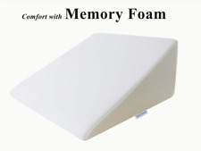 Foam Wedge Room Bed Pillow 25 x 24 x 12 Inch InteVision with Removable Cover