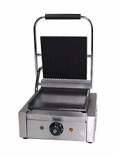 Prensa para panini máquina eléctrica, tostadora eléctrica Sandwich Maker, comercial Pannini Parrilla