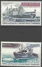 Timbres Bateaux TAAF PA63/4 ** lot 13865