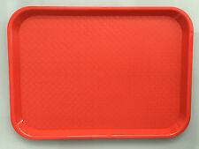 12 x Plastic Tray For Serving / Fast Food / Dinner / Table