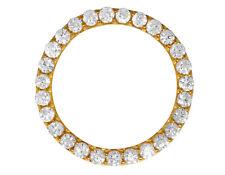 Gold Prong Set Diamond Bezel for Rolex Day-Date Datejust President 36mm 6.75 Ct
