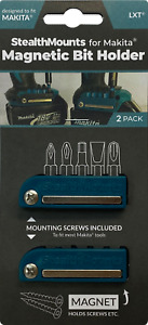 2x BLUE MAGNETIC BIT HOLDER for MAKITA LXT Tools