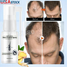 Fast Hair Growth Serum Spray Dense Regrowth Ginger Oil Anti Loss Treatment Care