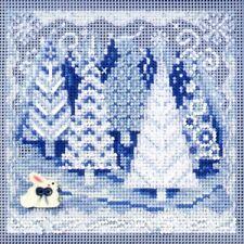 Winter Wonderland Holiday Kit Mill Hill 2009 Buttons & Beads Winter