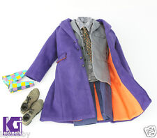 CGL TOYS Joker 2.0 1/6 Costume Suit for Hot Toys Body DX 11 DX01+Purple Hands