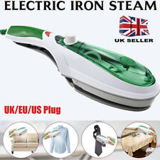 UK Portable Travel Handheld Iron Clothes Steamer Garment Steam Brush Hand Held