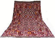 400x225 cm antik seltener Orientteppich Nomaden Kelim Afghan Uzbek killim Nr:477