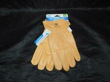 West Chester M NEW Brown Leather Driver Gloves Aqua Armor Driving Work Mens Md