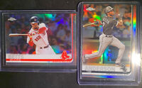 2019 Topps Chrome Refractors Mookie Betts Tim Anderson- 2 Card Lot