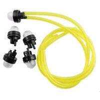 5pcs Primer Bulbs & Fuel Lines for ECHO Poulan RYOBI Homelite Chainsaw Trimmer
