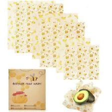 🐝Natural Reusable Beeswax Food Wrap - Set Of 3 (36x36 cm, 28x28 cm, 20x20 cm)