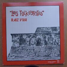 LP/  Los Folkloristas - Raiz Viva