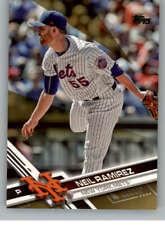 2017 Topps Update Gold MLB Baseball Parallel Cards Pick From List 151-300 /2017