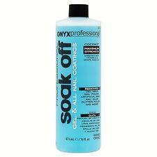 NEW Onyx Professional Soak Off Nail Gel & Polish Remover 16oz Coconut Scented.