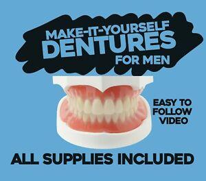 DIY Denture Kit - Homemade Dentures, Custom Dentures From Home