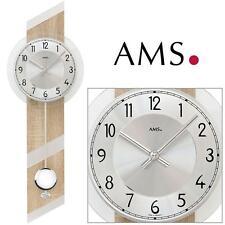 AMS 44 Cuarzo de Reloj pared con péndulo óptica Sonoma para salón 622