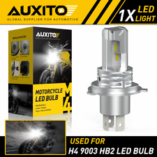 AUXITO H4 9003 HB2 LED Bulb Hi/Lo Beam Motorcycle Headlight High Power M4 EOA