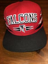 Atlanta Falcons Mitchell and Ness Snapback Hat Cap Red NFL Vintage Collection