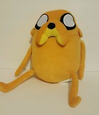 Cartoon Network Adventure Time JAKE the Dog Plush Stuffed Toy VGC, 10""